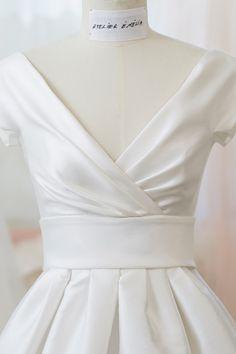 Robe de mariée Atelier Emelia Versailles