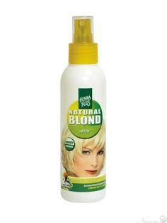HennaPlus Zosvetľujúci sprej na vlasy s Harmančekom - BIO a prírodná kozmetika