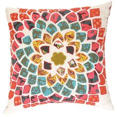 I pinned this Bohemian Flower Pillow from the Karma Living event at Joss and Main!