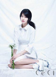 Suzy miss A Pretty CeCi Magazine April 2013