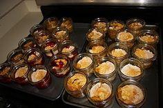 Cobbler...in a Jar, a cute idea especially for a bake sale!!
