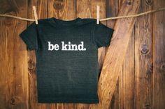 Be Kind  Kids Apparel  Be Kind Logo TShirt  Size by BeKindMovement, $20.00