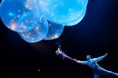 Cirque du Soleil's Corteo touring show.