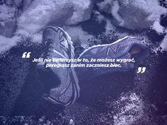 """""""Jeśli nie uwierzysz w to, że możes wygrać, przegrasz zanim zaczniesz"""" #NewBalance #running #bieganie #motywacja"""