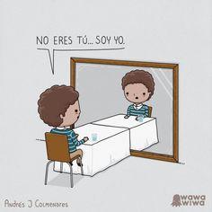 No eres tú… soy yo. #humor #risa #graciosas #chistosas #divertidas