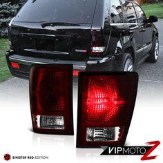 [DARK CHERRY RED] 2007-2008-2009-2010 Jeep Grand Cherokee Rear Tail Lights Lamps | eBay Motors, Parts & Accessories, Car & Truck Parts | eBay!