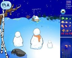 technology rocks. seriously.: Build Your Own Snowman activities