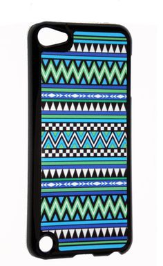 iPod Touch 5th Generation Colorful Turquoise blue green This case makes it look like a iphone! Beautiful