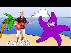 Engels liedje voor kleuters: Let's go to the beach