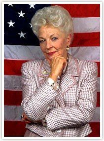 """Ann Richards -- gained national attention at the 1988 Democratic National Convention with a keynote speech skewering fellow Texan George Bush (""""Poor George . He was born with a silver foot in his mouth. Dorothy Ann, Texas History, Famous Women, Famous People, American Women, American History, Before Us, Women In History, Portrait"""