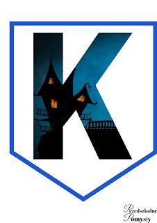 Andrzejki w przedszkolu - pomysły i pomoce dydaktyczne Halloween, Batman, Symbols, Letters, Superhero, Logos, Fictional Characters, Art, Ideas