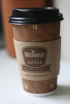 Caution: Wawa Coffee is Hot & Delicious.