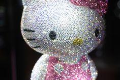 Diamond bling hello kitty