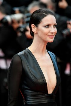 "Caitriona Balfe attends the ""Money Monster"" premiere during the 2016 Cannes Film Festival, 12 May 2016"