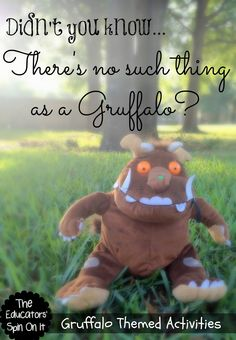 A Collection of The Gruffalo Themed Activities from The Educators' Spin On It