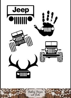 DIGITAL DOWNLOAD svg png jeep offroad 4x4 mudding auto silhouette cricut cutting file vinyl HTV boy girl shirt print