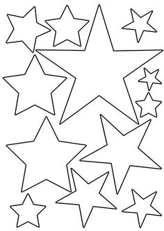 1 million+ Stunning Free Images to Use Anywhere Retro Christmas Decorations, Easy Christmas Crafts, Christmas Mood, Christmas Activities, Simple Christmas, Handmade Christmas, Christmas Ornaments, Star Template Printable, Cardboard Crafts