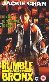 Jackie Chan, Rumble in the Bronx AKA my introduction to performance sculpture- srsly, Jackie Chan's clever use of objects in his martial arts is something to take note of