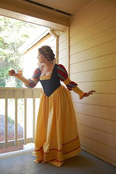 Cosplay for Historically accurate Snow White by Claire Hummel