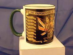 1st Battalion  staffordshire regiment mug  £7