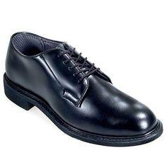 Bates Boots Women's USA Made Black Leather Uniform Shoes 769