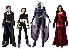 x men: still mad we never got to see the next series of costume changes. they looked great