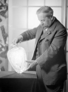 From 1884, when his first jewelry designs were displayed at the Musée du Louvre, until his death, René Lalique (French, 1860–1945) created stunningly beautiful and original objects, first in the Art Nouveau style and later in the Art Deco style. He embraced change, set fashion, and created and nurtured a company whose products were made not only for the rich and powerful, but for the middle-class consumer.