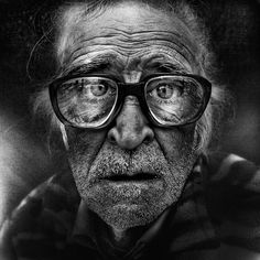 Lee Jeffries documents the expressive faces of homeless people in powerfully humanizing portraits.
