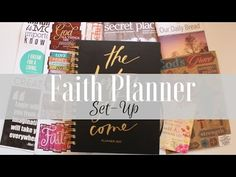 Welcome to another video here on my channel. In this video I share my faith planner (Horacio Printing) and how I set it up for January. Create 365 Happy Planner, Bible Study Lessons, 2017 Planner, Washi Tape Planner, Custom Planner, Scripture Reading, Faith Bible, Illustrated Faith, Travelers Notebook