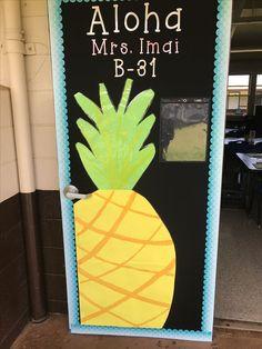 Ideas For Classroom Door Decorations Tropical Classroom Decor Themes, Classroom Door, Classroom Design, Kindergarten Classroom, School Classroom, Classroom Organization, Future Classroom, Classroom Ideas, Teacher Doors