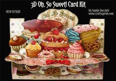Oh, So Sweet! 3D Card Kit
