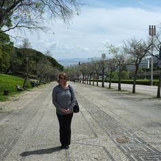 Walking in Miradouro do Parque Eduardo VII in Portugal Travel, Lisbon Portugal, Travel Pictures, Travel Photos, European Vacation, Travel Bugs, Travel Photography, Traveling, Walking
