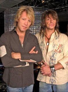 "Jon Bon Jovi and Richie Sambora doing the promotion of the album ""H.A.N.D."",2005!"