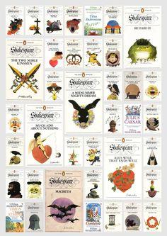 Las obras de Shakespeare en la colección The New Penguin Shakespeare