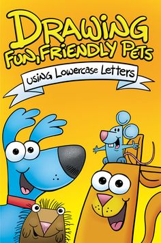 "Follow step-by-step drawing instructions and easily turn an ordinary lowercase letter into a fun, friendly pet. *48 pages *NEW 6""x9"" backpack size *beautiful full color pages *paperback Steve Harpster"