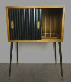 Image result for 50's record cabinet