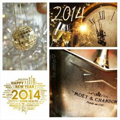 Happy New Year, 2014 here we come! ♡Moodboard by me♡