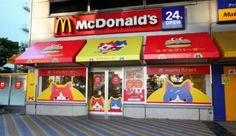 The #worldsmostpopular #fastfood #restaurant, #McDonalds had one of their locations in #Japan transformed into #MogmogBurgers, a #fictitious location in one of their #popular #videogames and #anime, #YokaiWatch!