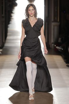Look 09 at Vivienne Westwood #SS15 Gold Label