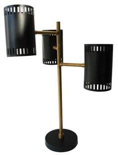 Meuble Suspension année 50 - noir - Mobilier Lampes, lustres, appliques, ..... Signature