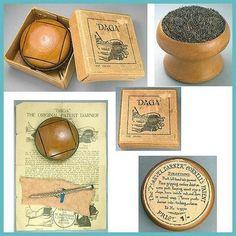 Vintage English Patented Darners; Daga & Marvel; Circa 1920's