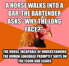 Anti+Joke+Chicken++A+horse+walks+into+a+bar