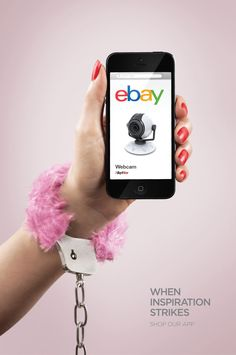 Ebay - When inspiration strikes. Shop our app