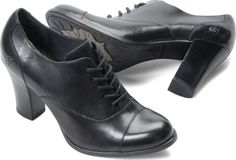 Would look great paired with a business suit or jeans | Born Womens Dana in Black