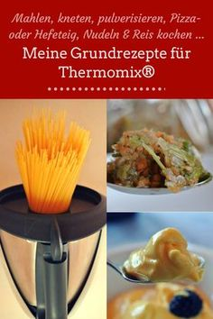 My basic recipes for Thermomix: grinding, kneading, pulverizing, pizza or yeast dough, cooking pasta and rice Chapati, Greek Diet, Greek Recipes, Pizza Recipes, Food Items, Cherry Tomatoes, A Food, Pizza Hut, Tasty