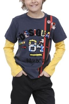 Boy Knitted T-Shirt Lampuga