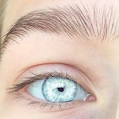 Crystal colored eyes so beautiful