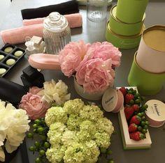 Green&Glam ideas #greenglam #nastribrizzolari #la5green #flower