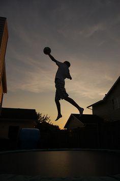Trampoline Accessories - Basketball Hoops