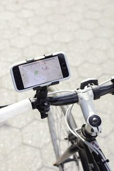 83986bb1d13 All-Weather Bike Phone Mount. Kikkerland Design Inc